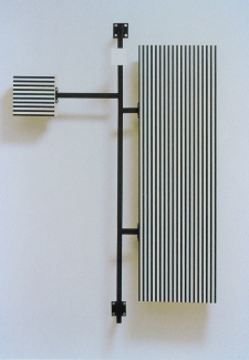 Richard Roth Selected Early Work paint, steel, wood, formica