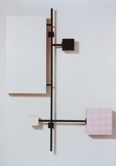 Richard Roth Selected Early Work paint, formica, wood, steel