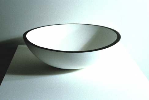 Richard Roth Selected Early Work acrylic on wood bowl