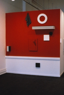 Richard Roth Selected Early Work paint, wood, steel, cloth, plastic