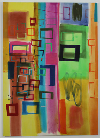 RICHARD TIMPERIO 2011 paintings acrylic on canvas