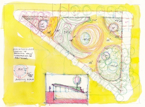 Sketches for a Memorial Garden #9661