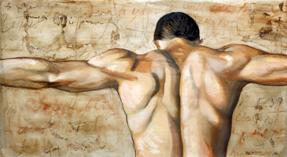 Rachel Mindrup Figurative Works Oil on Canvas