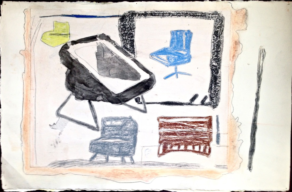 Robert G. Edelman        Art Consultant/Writer/Independent Curator     Works on paper Watercolor, graphite, pastel, collage on paper
