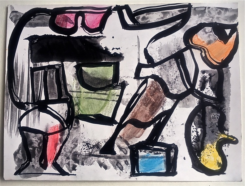 Robert G. Edelman        Art Consultant/Writer/Independent Curator     Works on paper Ink, colored pencil, chalk, charcoal on paper