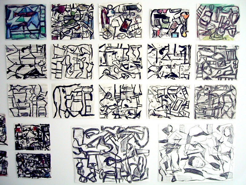 Robert G. Edelman        Art Consultant/Writer/Independent Curator     Works on paper mixed media