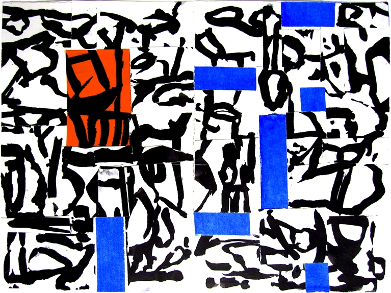 Robert G. Edelman        Art Consultant/Writer/Independent Curator     Collages Ink, gouache, collage on paper