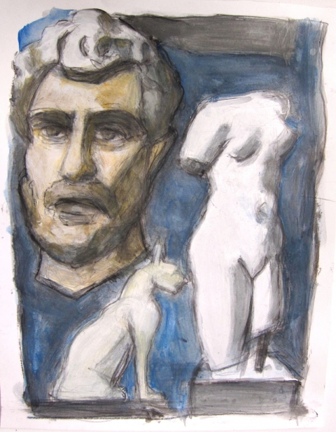 Robert G. Edelman        Art Consultant/Writer/Independent Curator     Works on paper 11 x 9""