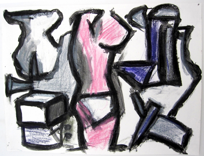 Robert G. Edelman        Art Consultant/Writer/Independent Curator     Works on paper acrylic, pastel crayon, graphite on paper
