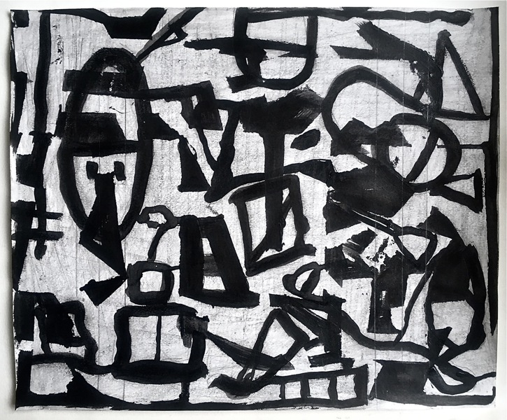 Robert G. Edelman        Art Consultant/Writer/Independent Curator     Works on paper ink, graphite on paper