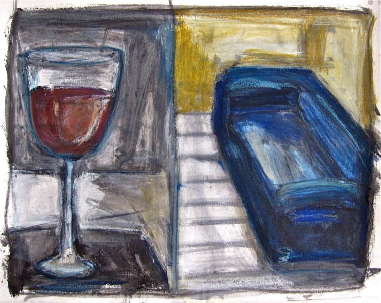 Robert G. Edelman        Art Consultant/Writer/Independent Curator     Works on paper Acrylic, oil pastel on paper