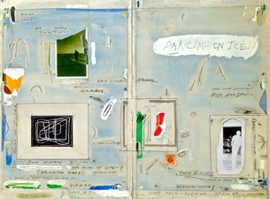 ROBERT PETERSEN 2012-2013 Mixed media collage on paper