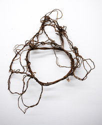 ROBERT SCHATZ Objects Jute twine, wood, and acrylic
