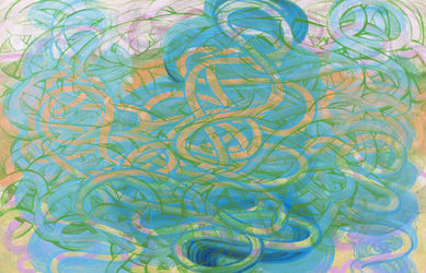 ROBERT SCHATZ Painting Acrylic on music paper