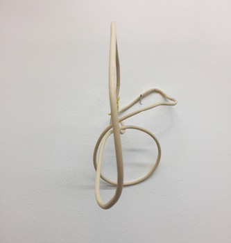 ROBERT SCHATZ Objects Reed and yellow twist tie