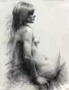 Drawing charcoal/paper