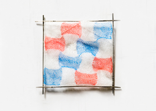 Robin M Jordan Red White and Blue polypropylene, nickel