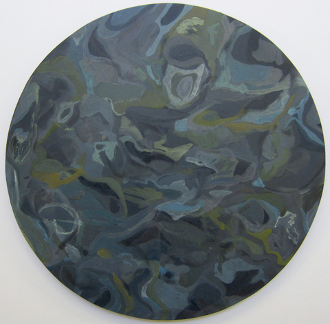 Robyn Ellenbogen Egg Tempera Paintings egg tempera, metallic wool, on prepared panel