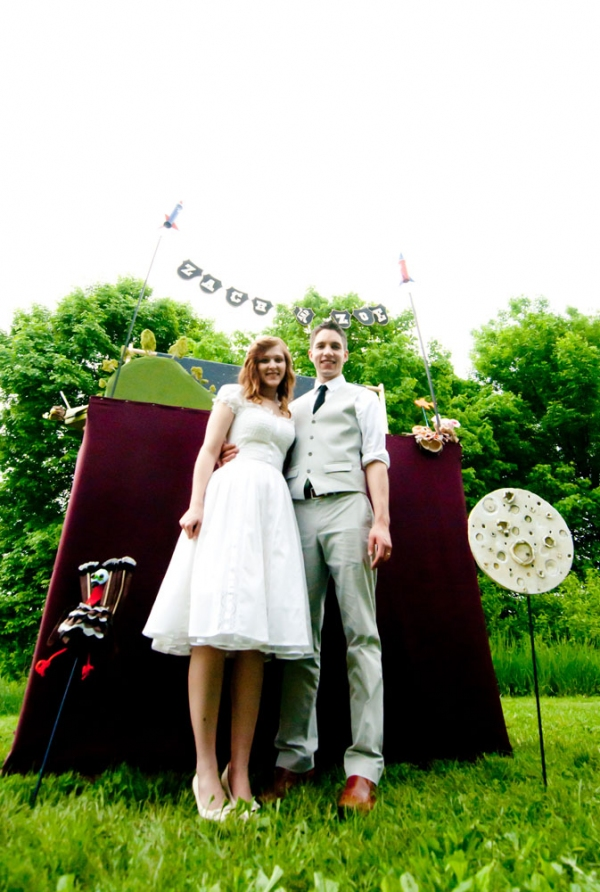 Zach and Zoe's Runcible Wedding 2011