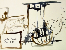 Roger Palmer Works on paper  2000 to Present pure pigments on rag