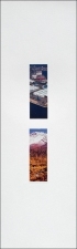 Roy Baugher Estuary Cut-and-pasted printed paper on paper, 15 sheets, sheet 15 of 15