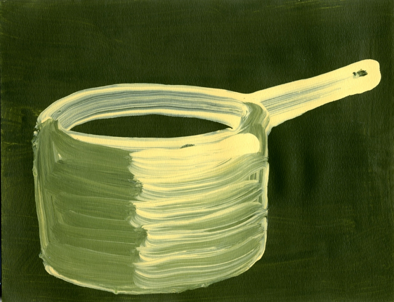 Paintings On Paper Saucepan