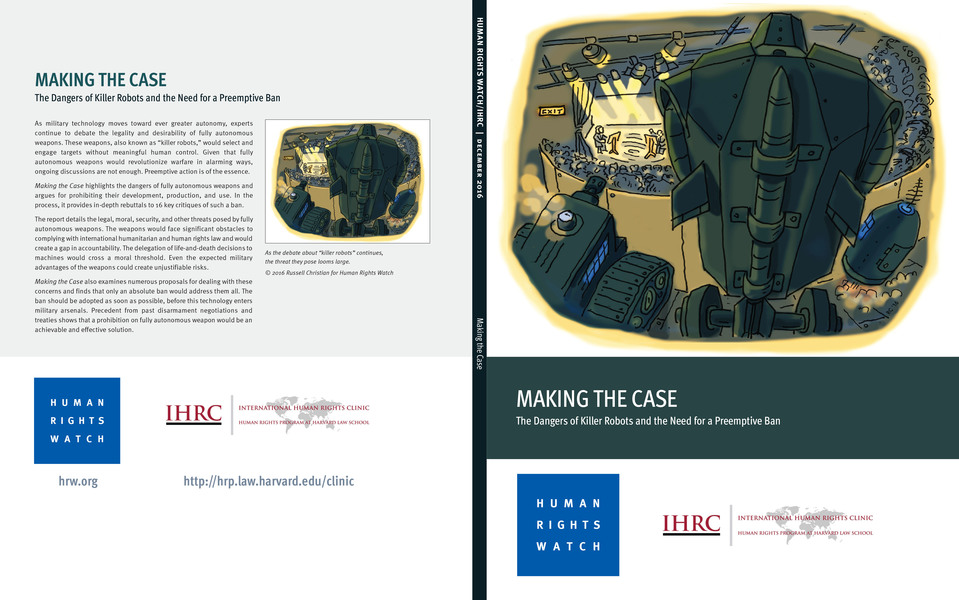 Published Illustration Making The Case