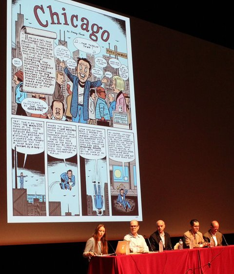 R Y A N   S T A N D F E S T Chicago: Comics On The Make