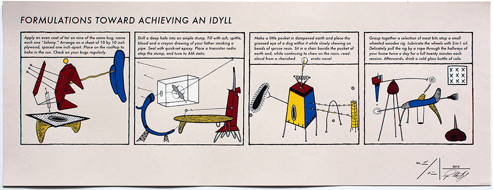 RYAN STANDFEST formulations toward achieving an idyll