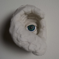Samantha Russell Sculptures Ceramic, Pigment, Resin