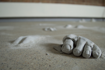 Samantha Russell Sculptures Unfired Clay