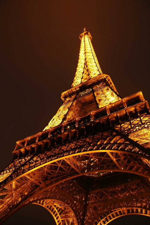 Photography Eiffel at Night