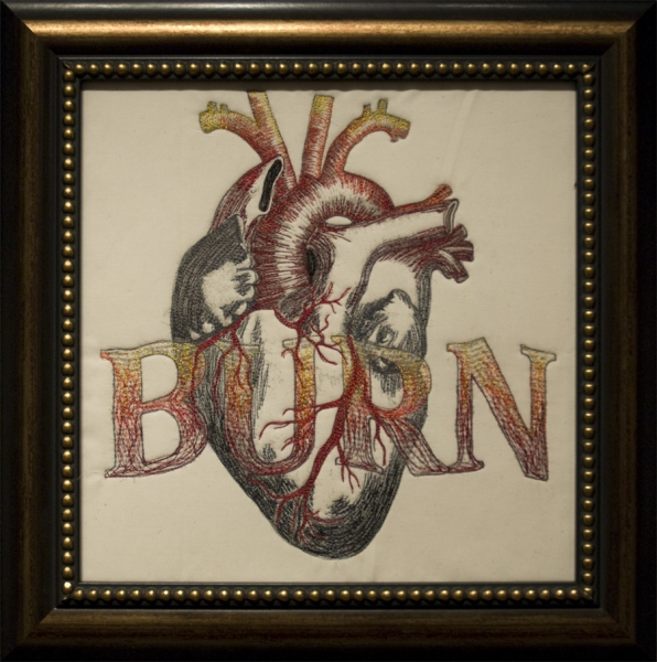 Embroidery Heartburn