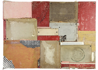 Samuel Levi Jones 2013 Mixed Media on Panel