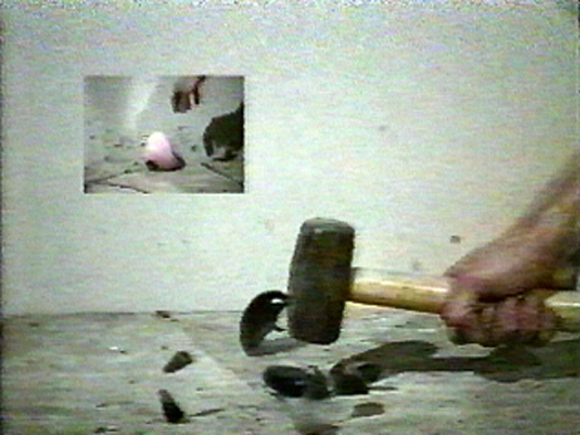 Projects: 1996-1999 Breaking Painted Stones