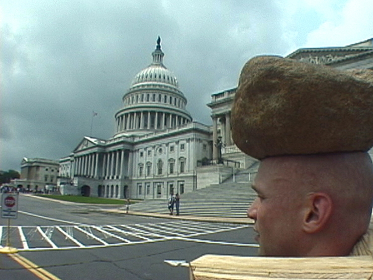 Projects: 2000-2003 Spirals around the US Capitol - CW