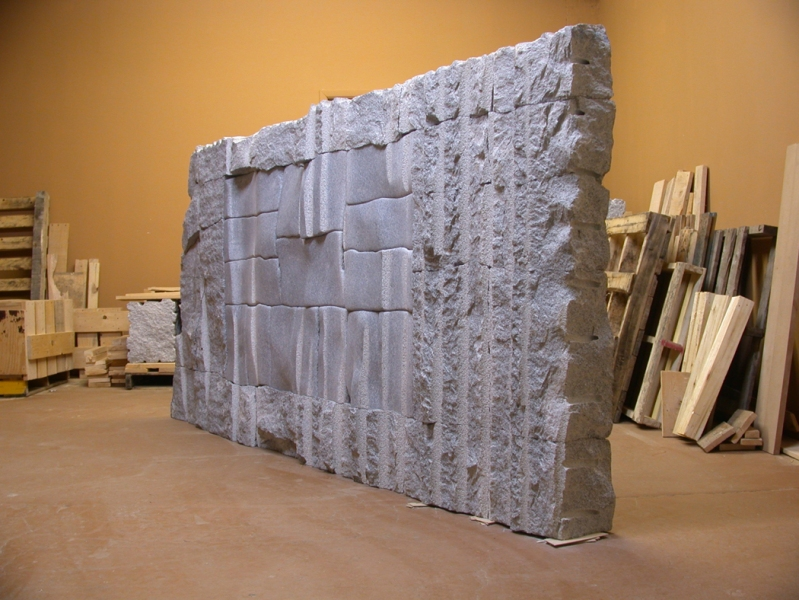 Projects: 2004-2009 Granite Wall – In Studio