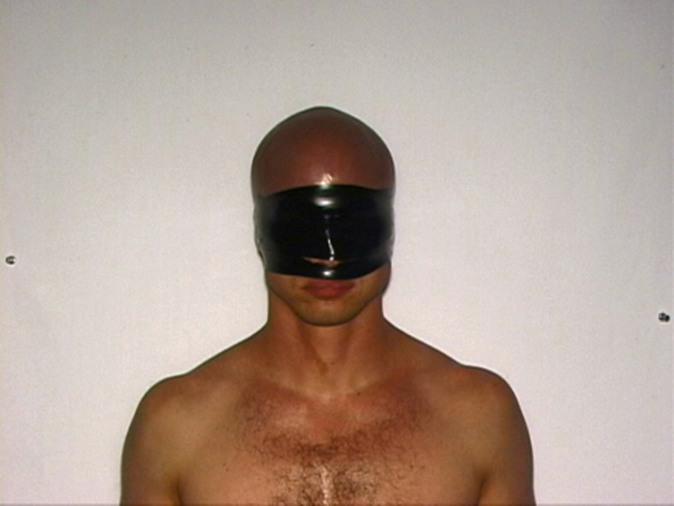Projects: 2000-2003 Staying Calm Under Duress - Removing Blindfold