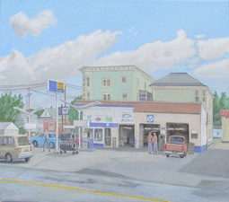 Sam Thurston Paintings of Newport, Vermont  o/c
