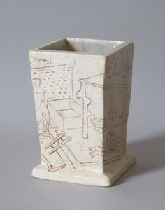 Sam Thurston Ceramics glazed clay
