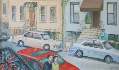 Sam Thurston Brooklyn  paintings and studies o/c