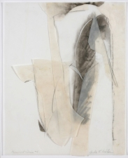 SANDRA K. MEAGHER <i>Monument</i> Series mixed media on vellum