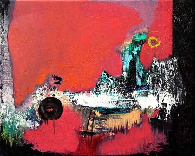 """ABSTRACT SPACE"" RED ZONE"