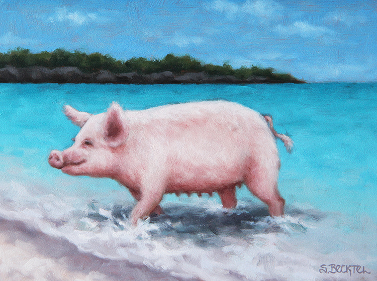 A Certain Time and Place Beach Pig II