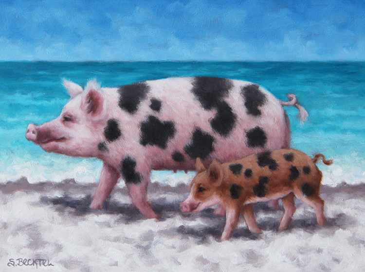 A Certain Time and Place Beach Pigs