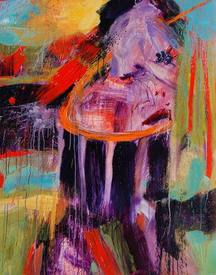 SARAH DINEEN Paintings 2011-2012 acrylic on canvas