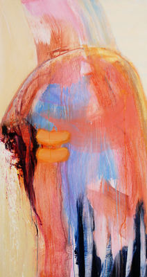 SARAH DINEEN Paintings 2011-2012 acrylic on wood
