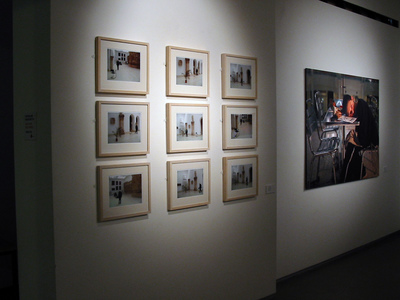 Sarah Iremonger The Iraq Room 2003 Photograph taken with a video camera, printed on epson glossy photo paper