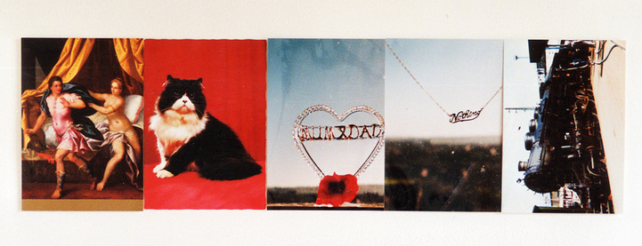 Sarah Iremonger Nothing 1998-2003 Found postcards, photographs