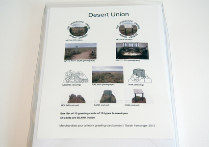 Desert Union / greeting cards box-set
